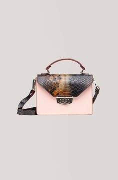 Gallery Accessories Bag, Snake Block Colour