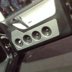 3way system with TX series speakers in a custom door pod