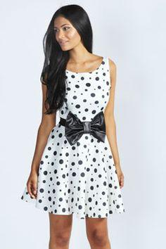 http://www.boohoo.com/restofworld/clothing/newin/icat/newin/skater-dresses/minnie-spot-wet-look-bow-skater-dress/invt/azz45084 101 Dalmations dress?
