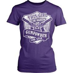 Gun Shirt - Gunpowder & Lead
