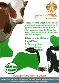 Print advertisement for Prime Pharma  - Trisensor Antibiotic Rapid Test