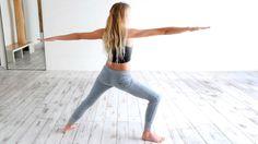 Posturas de yoga en casa para fortalecer las piernas