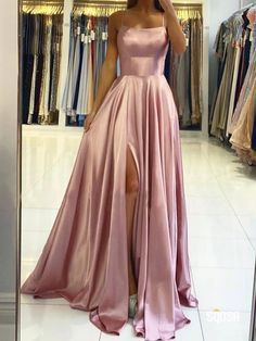 Straps Prom Dresses, Hoco Dresses, Dance Dresses, Evening Dresses, Teen Dresses, Split Prom Dresses, Backless Dresses, Halter Prom Dress, Different Prom Dresses