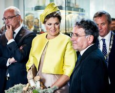 Queen Máxima inaugurated a museum on microorganisms.