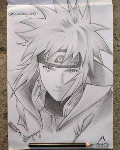 🍃 One of my most favorite and first drawing of (Naruto). I made it last summer. Kakashi Drawing, Naruto Sketch Drawing, Naruto Drawings, Anime Drawings Sketches, Anime Sketch, Manga Drawing, Anime Naruto, Naruto Shippuden Anime, Otaku Anime
