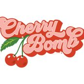 Shop the world's largest marketplace of independent surface designers - Cherry Bomb Tea Towel* 70s Aesthetic, Aesthetic Collage, Aesthetic Vintage, Aesthetic Pictures, Photo Wall Collage, Picture Wall, Cherry Drawing, Aesthetic Stickers, Aesthetic Wallpapers