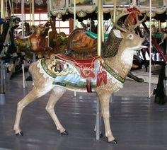Greenfield Village Carousel  Deer