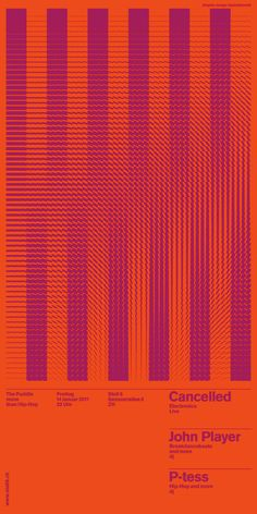 Used for the Posters and flyers for The Puddle (Stall 6), Andreas Gysin with Sidi Vanetti created this Processing for the production of the rasters, eventually screen printed on coloured paper.    Built with a modified version of Toxi's cp5magic.
