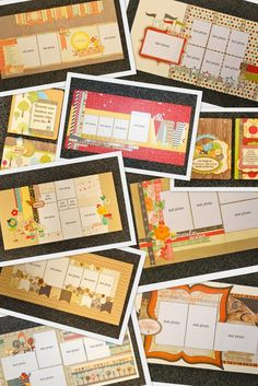 Wow! She wants $13-$15 for a 2 page layout that you assemble (from what I can tell) Next time someone asks me to do a scrapbook, I'll could charge this! scrapbook generation: January kit release