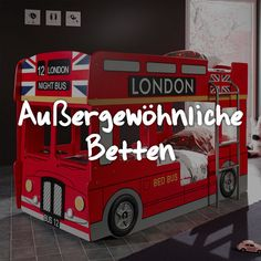 Für Kinder ist eine Umgebung wichtig, in der sie sich wohlfühlen und die ihre Fantasie beflügelt. London, Home, Beds, Environment, Imagination, Haus, Homes, Houses, At Home