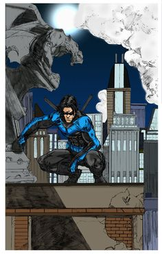 Nightwing #DC #Batman #Gotham