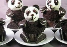 pandamania -how cute would this be at a party?