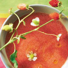 Gaspacho picaro tomates-fraises