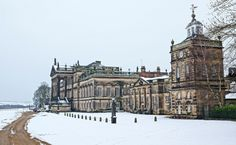"""europeanarchitecture: """" Wentworth Woodhouse - architects Henry Flitcroft and John Carr, South Yorkshire, England, U.K. (by Andy Coe) """""""