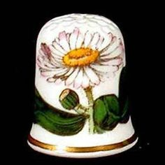 Details about Portmeirion Botanic Garden Thimble Collector Club DAISY ...