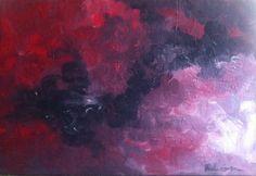 Acrylic painting - Implosion