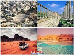 Jordan Tourism, Jerash, Wadi Rum, Tourist Spots, Amman, Dead Sea, 8 Days, First Nations, Day Tours