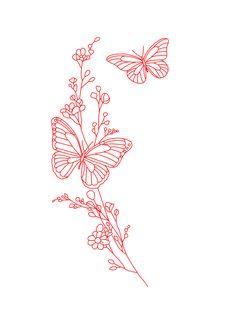 Cute Tiny Tattoos, Dainty Tattoos, Little Tattoos, Pretty Tattoos, Beautiful Tattoos, Small Tattoos, Cute Tats, Girly Tattoos, Red Ink Tattoos
