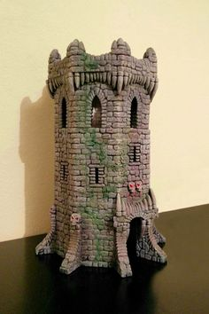 Fabster: La torre 1 Foam Carving, Hirst Arts, Warhammer Terrain, Dice Tower, Cardboard Castle, Medieval Fortress, Fairy Jars, Glass Bottle Crafts, Warhammer Fantasy