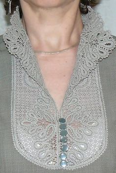 FSL Battenberg Victorian Lace Collar -- think I might actually be able to stitch this with the hoops my machine has!