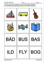 Små ord 5 Grade 1, Literacy, Teaching, Education, School, Danish Language, Grammar, Schools, Onderwijs