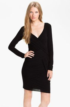 B44 Dressed by Bailey 44 'Alpha Delta' Wrapped Jersey Dress