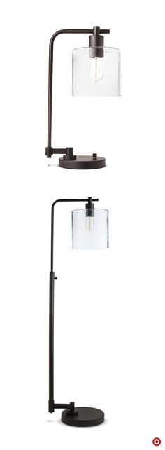 Sleek glass and metal lighting is a chic way to turn up edge and style. Try…