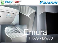 Daikin Emura demonstrează din nou că designul inteligent poate avea un aspect fantastic şi furniza eficienţă energetică în climatizare. astfel, mediul interior este optimizat, iar arhitecţii, inginerii şi proprietarii de locuinţe obţin soluţia perfectă.
