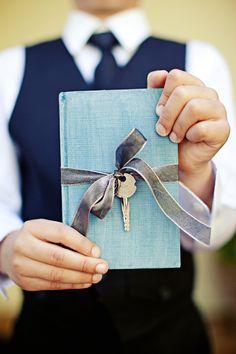 "key ring bearer ""pillow"" #ring #bearer #book #key #wedding #nuptials #decor"