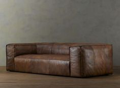 Fulham Sofa. Yes this is basically a giant beanbag masquerading as a sofa. But damn, it looks comfortable.