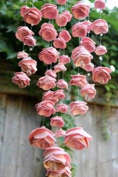 blumen selber basteln filzblumen dekoideen garten