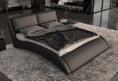 Modern Italian platform beds. Luxury leather and storage beds ...