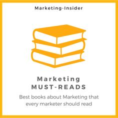 Marketing Must-Reads – Best books about Marketing