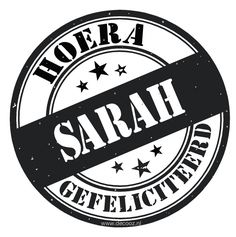 Sticker Sarah