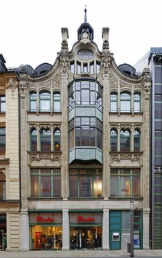 Ber ideen zu jugendstil architektur auf pinterest for Architektur jugendstil