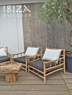 Mooie foto ontvangen met de bamboe loungestoel, erg mooi komen te staan op dit stoere terras! Bij interesse mail naar ibizaoutdoor@gmail.com ook voor een afspraak in de loods. Bamboe loungebank is ook verkrijgbaar. Fijne zondag!
