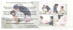 ZWedding Testimonials. #zwedding #fashion #wedding #bridal #zweddingsg #zweddingsingapore #singapore #testimonials