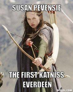The first Katniss Everdeen