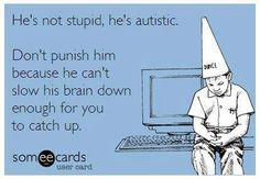 Never underestimate a child with Autism!