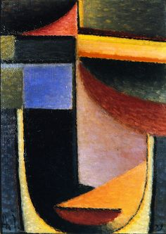 The Athenaeum - Abstract Head: The Cup Passed from Me (Alexei Jawlensky - No dates listed)