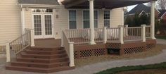 Screened porch raleigh nc gable roof by wilmington deck for Porch durham