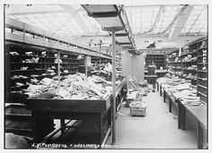 N.Y. Post Office -- unassorted [i.e., unsorted] mail