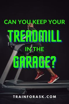 Can A Treadmill Be Stored in a Garage?It can be difficult to find an adequate spot to put your treadmill inside your house due to a multitude of reasons. This leads people to default to where they put most other things that don't fit inside the house; a garage or a shed. Jogging For Beginners, Running Plan, Running For Beginners, Running Tips, Running On Treadmill, Treadmill Workouts, Garage Door Insulation Kit, Clean Garage, Folding Treadmill