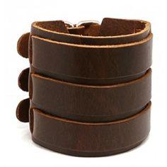 Leather bracelet,fashion jewelry,costume jewelry - Chic-Bracelet