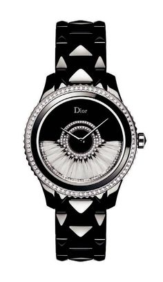 Dior VIII Grand Bal Plumes, with diamonds and a feather-set rotor.   Limited edition series of 88