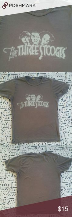 5acd0d57ff The Three Stooges Retro Tshirt The Three Stooges Retro Tshirt Fun,  Flashback Tshirt Shows a bit of wear due to age of shirt but not bad at all  Size M Shirts ...