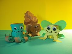 RECYCLED MATERIALS craft kit by kazsmom on Etsy