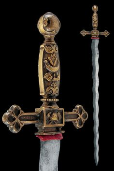 a firefighter sword from Germany, late 19th Century