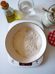 Ingrédients pâte à tarte sans gluten (maïs, riz sarrasin etc.)