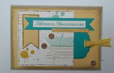 Carte anniversaire stampin'up
